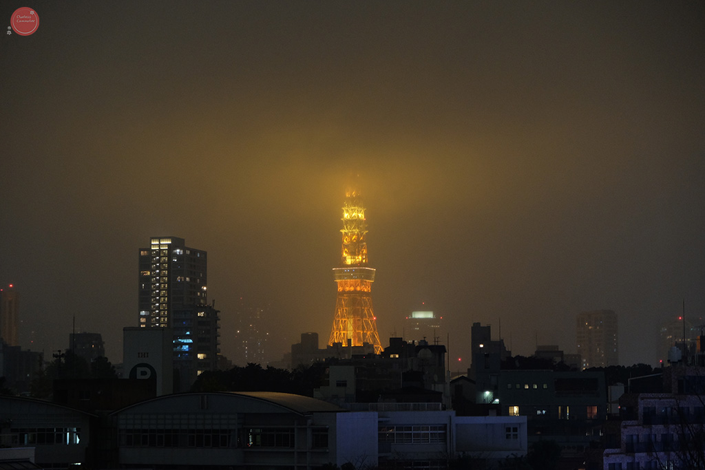 Tokyo Tower from Roppongi heights.