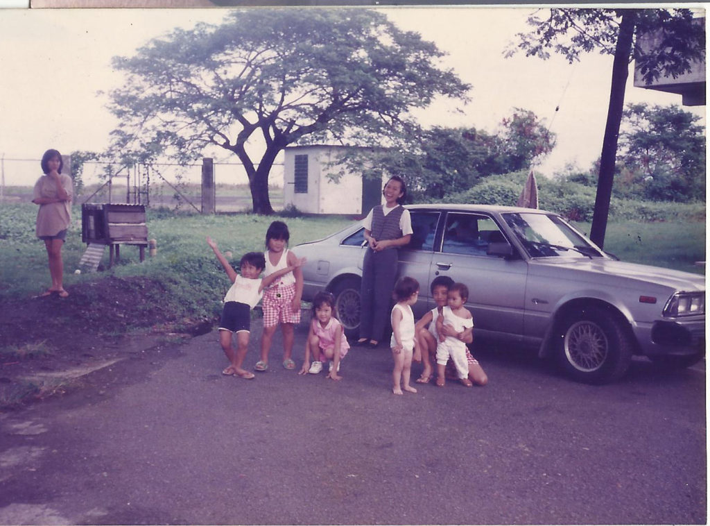 Toyota Corona and mom