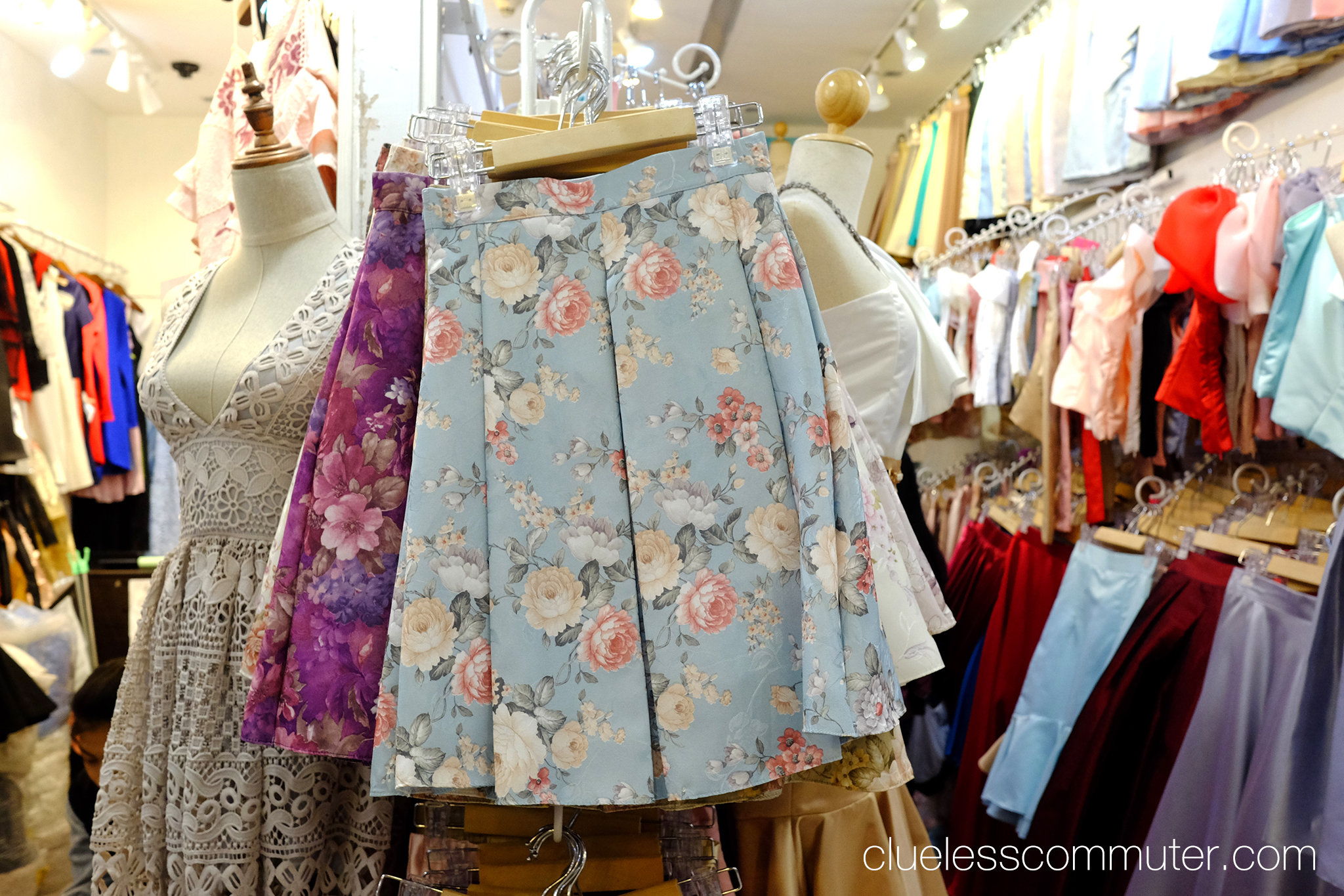 Bangkok printed skirt.